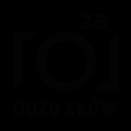 logo za dużo słów